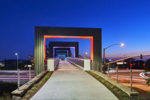 irvine pedestrian bridge
